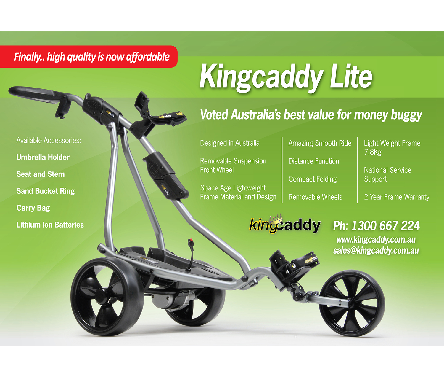 Kingcaddy-a4-lite-brochure-design